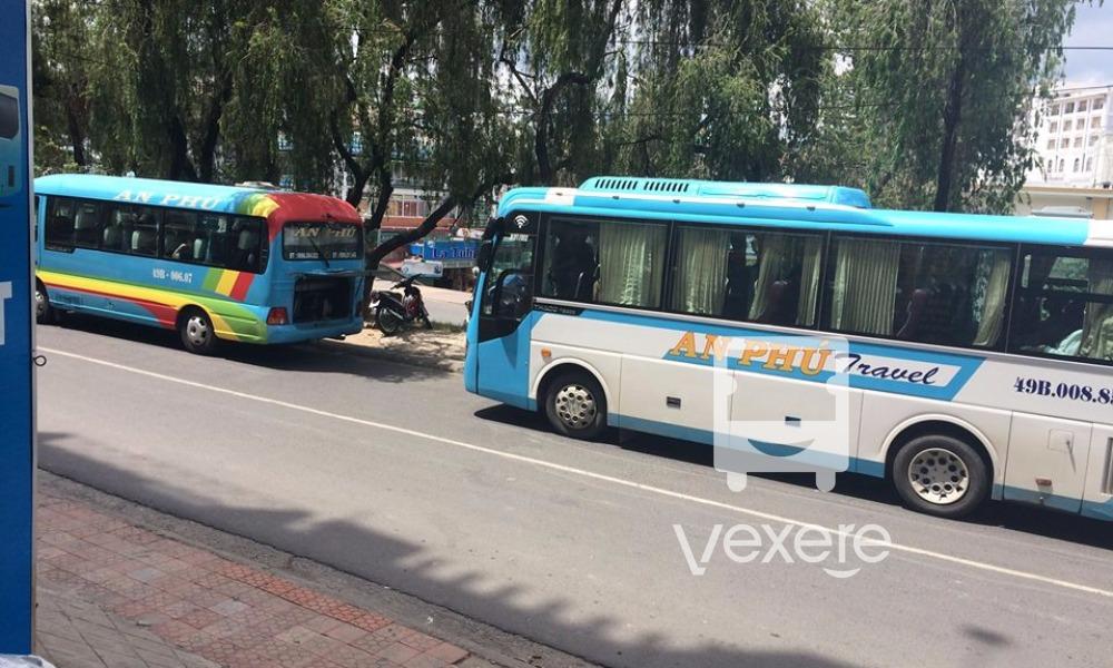 Xe An Phú Travel từ Đà Lạt đi Mũi Né