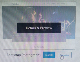 Make a Photography Website with WordPress - Preview