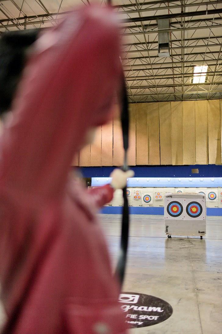 Archery Classes at Impact Archery Las Vegas.