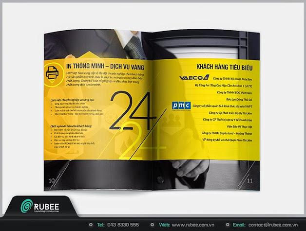 Thiết kế profile HPT 7 đẹp