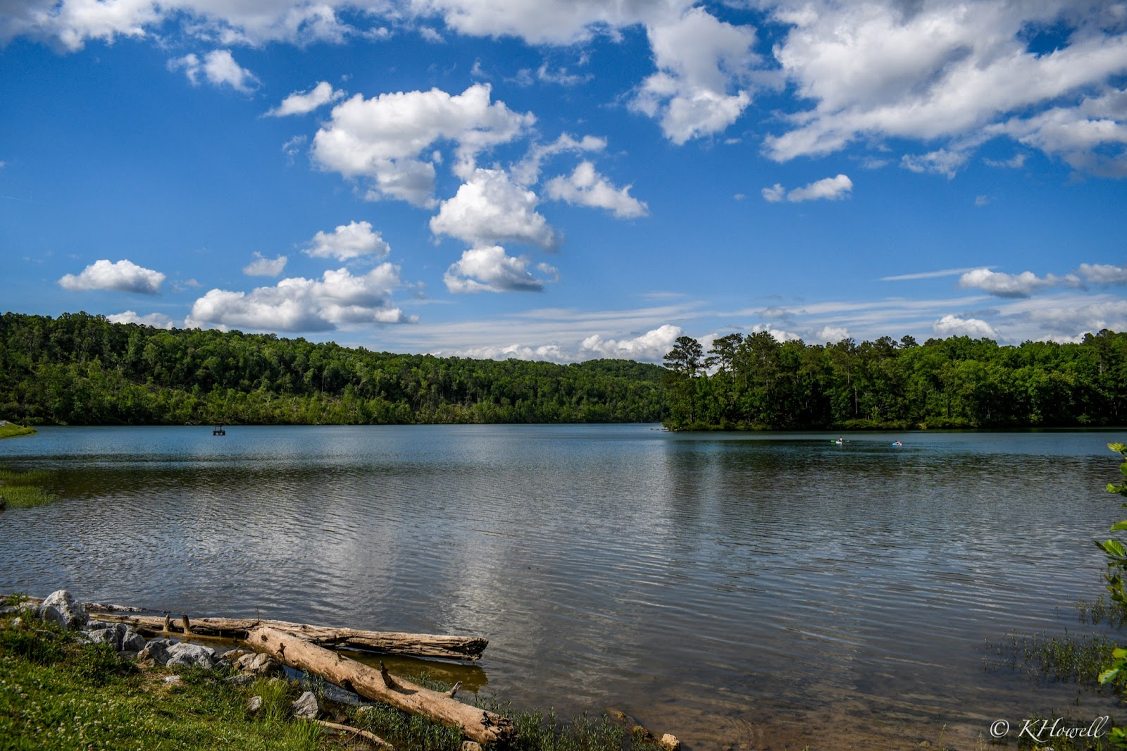 Lakes at Oak Mountain State Park in Pelham, Alabama. Located in the Greater Birmingham area