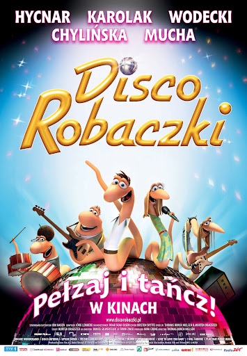 Polski plakat filmu 'Disco Robaczki'