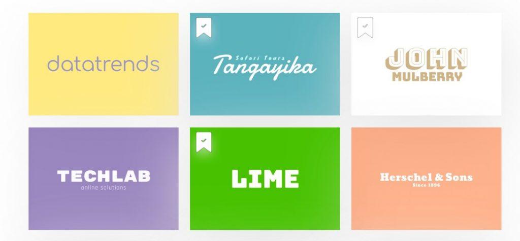 typographie, image de marque, démarrage, designs.ai