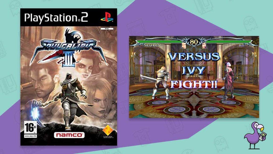 soul calibur 3 best ps2 fighting games
