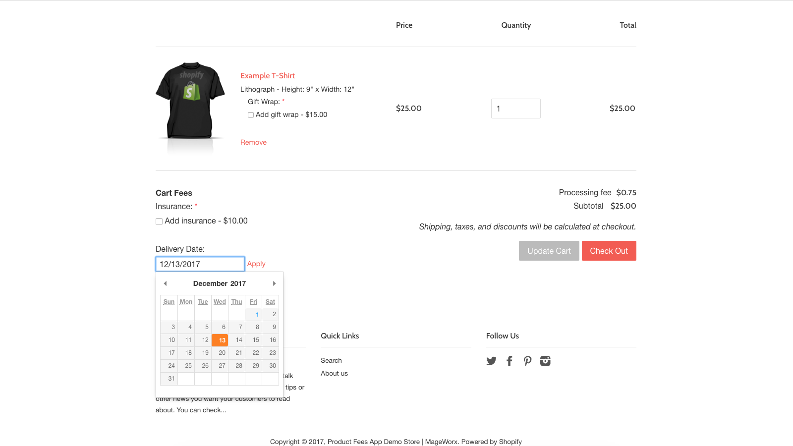 Order & Product Fees Shopify App to Boost Sales on Thanksgiving | MageWorx Shopify Blog