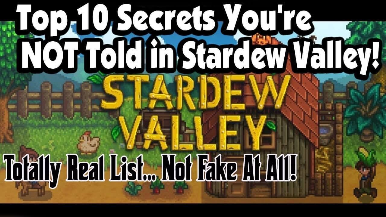 Stardew Valley Secrets