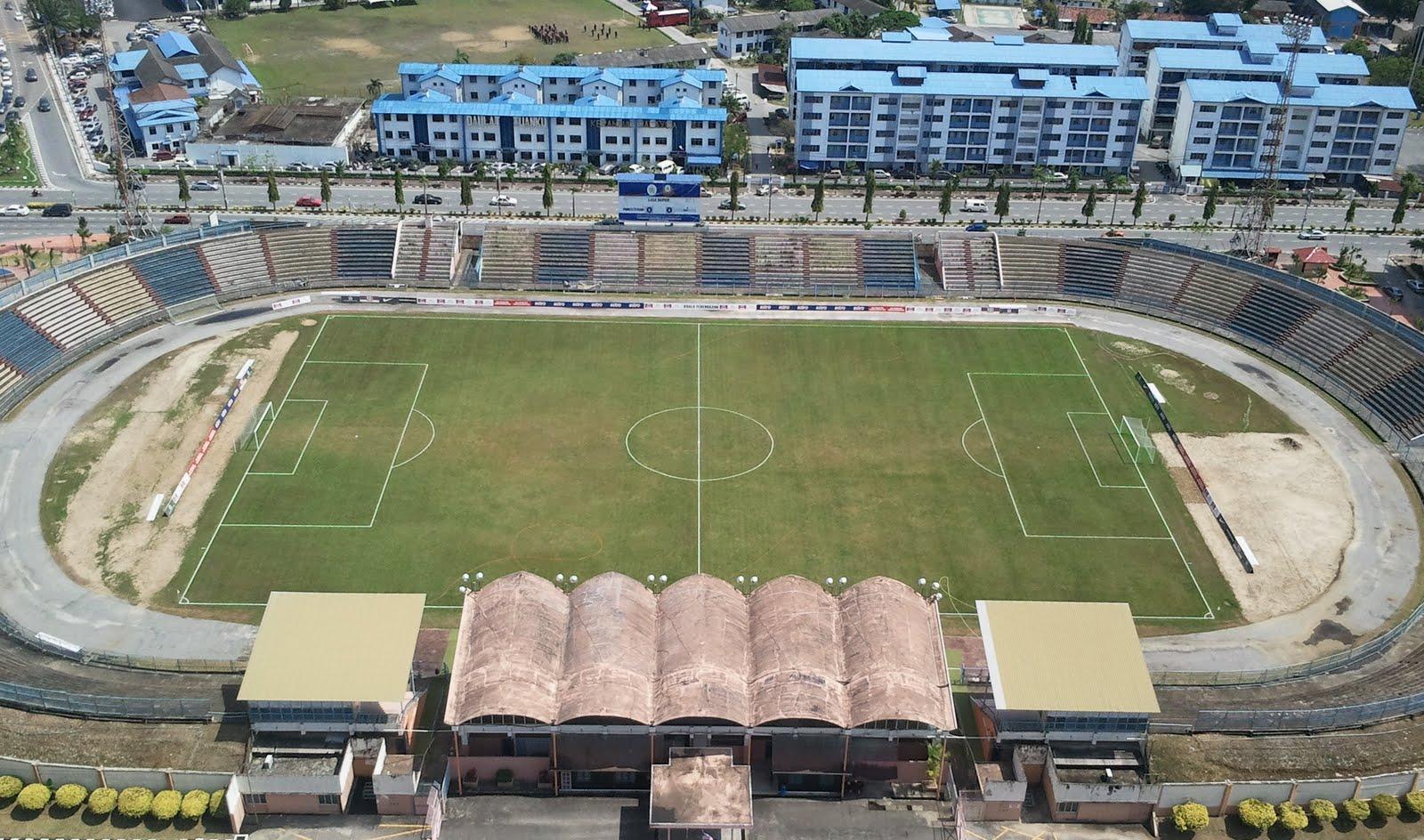 Brazilian soccer stadium Zerão