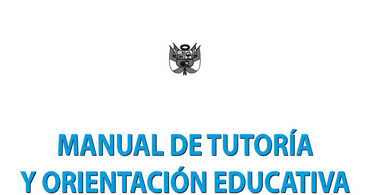 Manual de tutoria y google drive for Manual de viveros forestales pdf