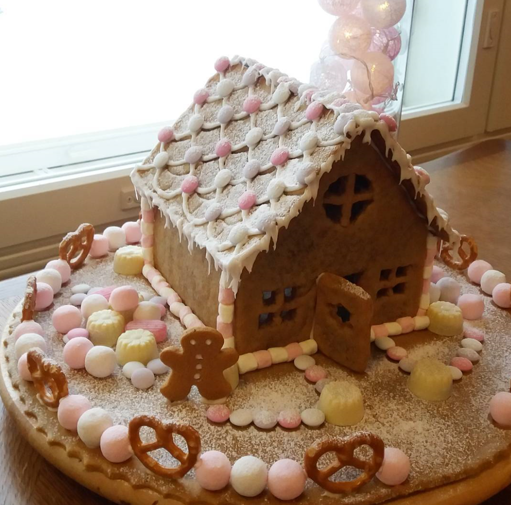 Here's Some Inspiration For Your Gingerbread House