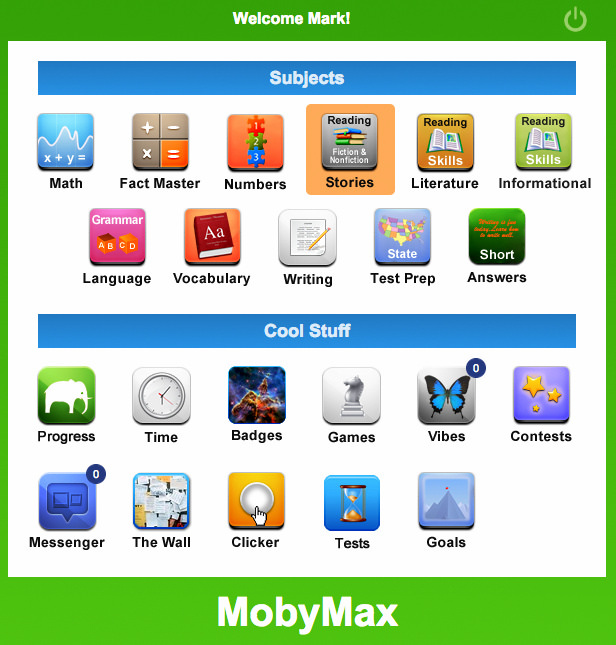 Barrett is Using MobyMax.12 ...
