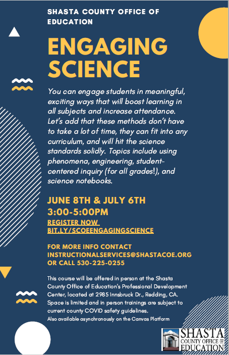 Registration for Engaging Science