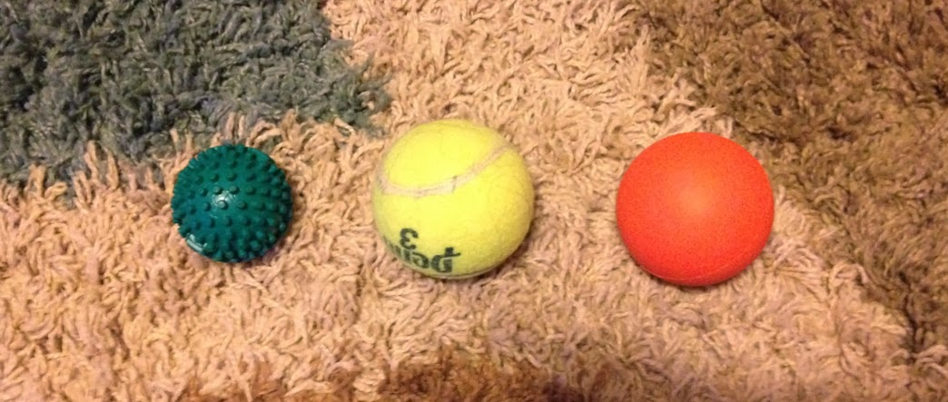 Foot Rubz, tennis ball, lacrosse ball for plantar fasciitis