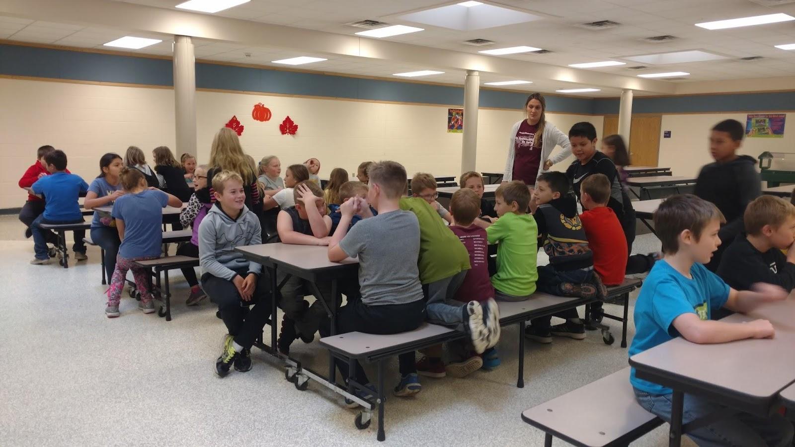 cafeteria behavior demo