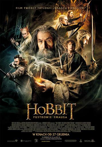 Polski plakat filmu 'Hobbit: Pustkowie Smauga'