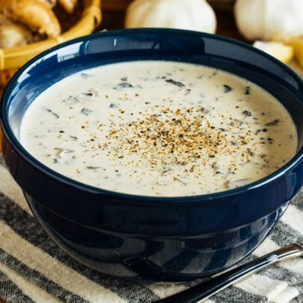 creamy soup dishes mushroom soup