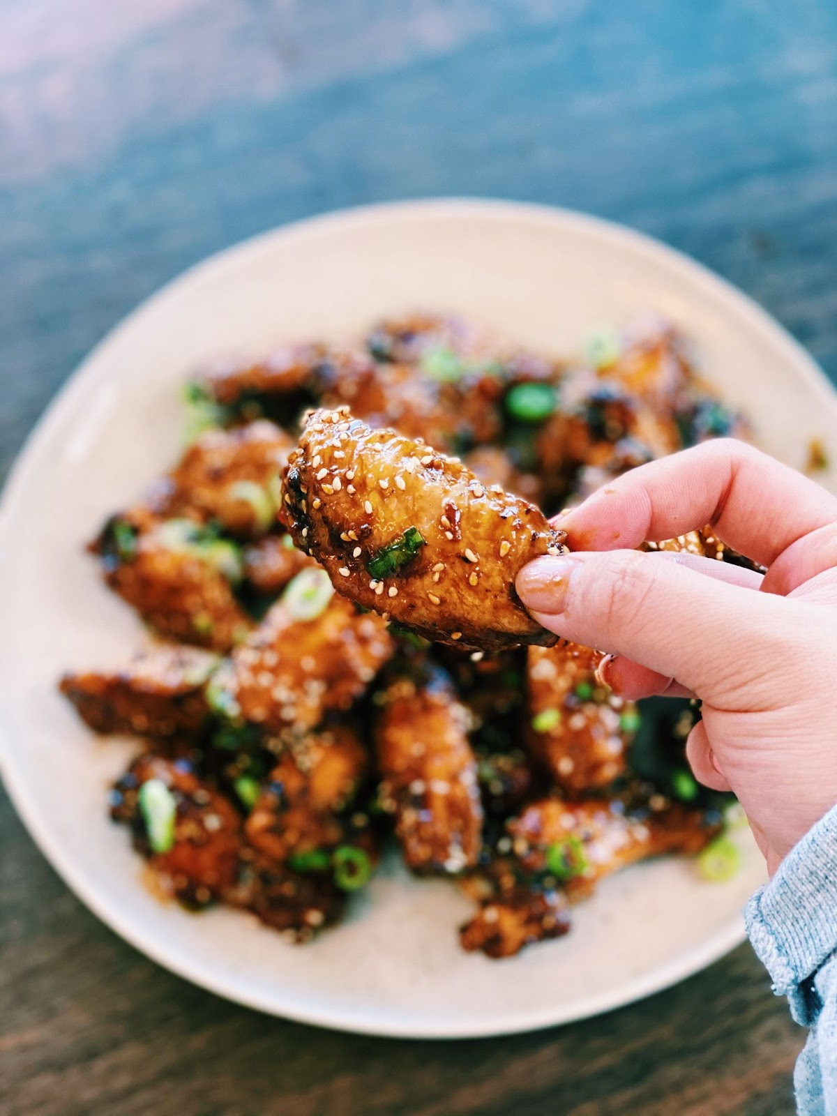 Air Fryer Soy Sauce Chicken Wings (MUST TRY!)