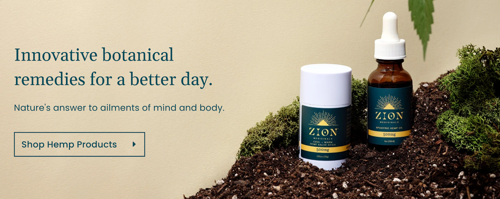 Zion Medicinals - Innovative botanical remedies for a better day