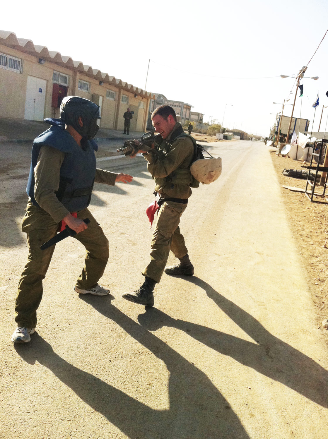 IDF Soldiers Train in Krav Maga