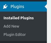 wordpress dashbord plugins options