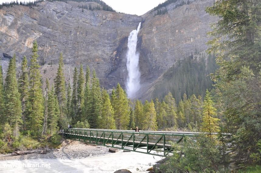 Takakkaw Falls - one of the highest in Canada