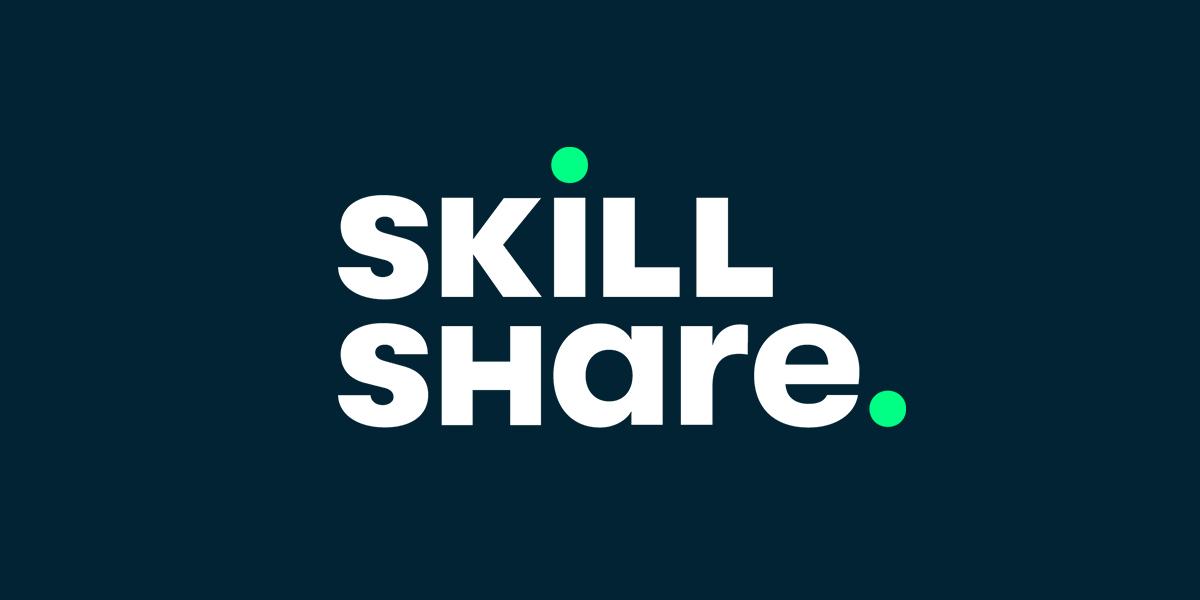 Skill share logo