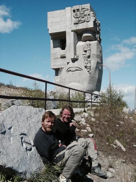 Бурман и Макгрегор у Маски скорби