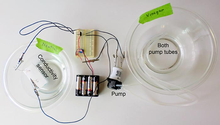 Complete insulin pump model circuit being normalized.