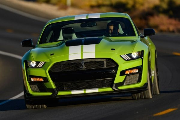 Ford Mustang GT35 on the Road