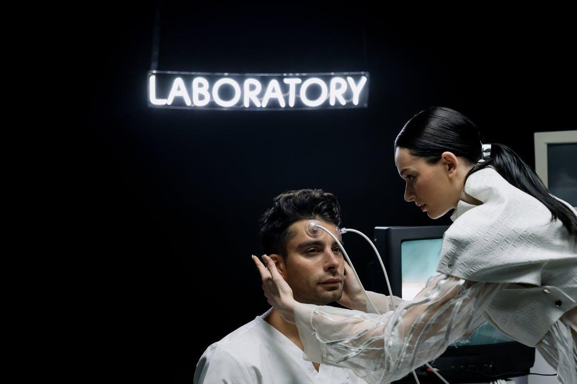 Man Getting a Checkup
