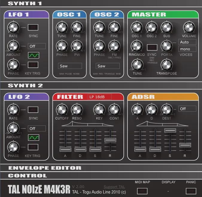 best free vst Tal-NoiseMaker