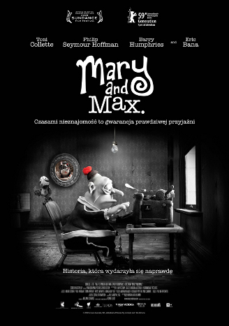 Polski plakat filmu 'Mary And Max'