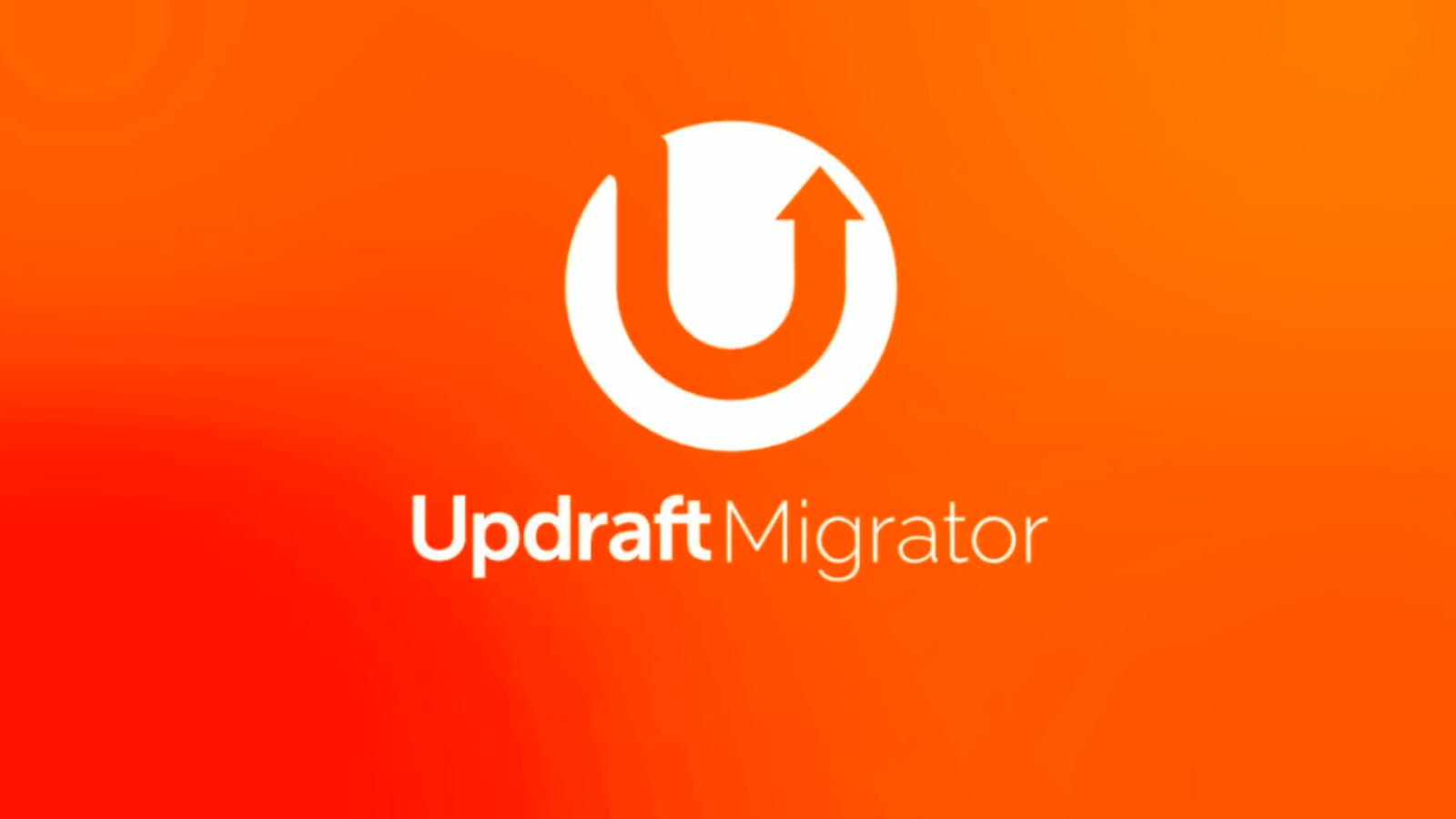 Updraft Migrator