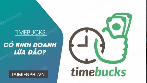 timebucks lừa đảo