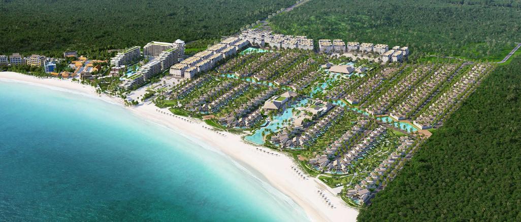 Bờ biển bãi Kem được Sun Group chọn cho dự án
