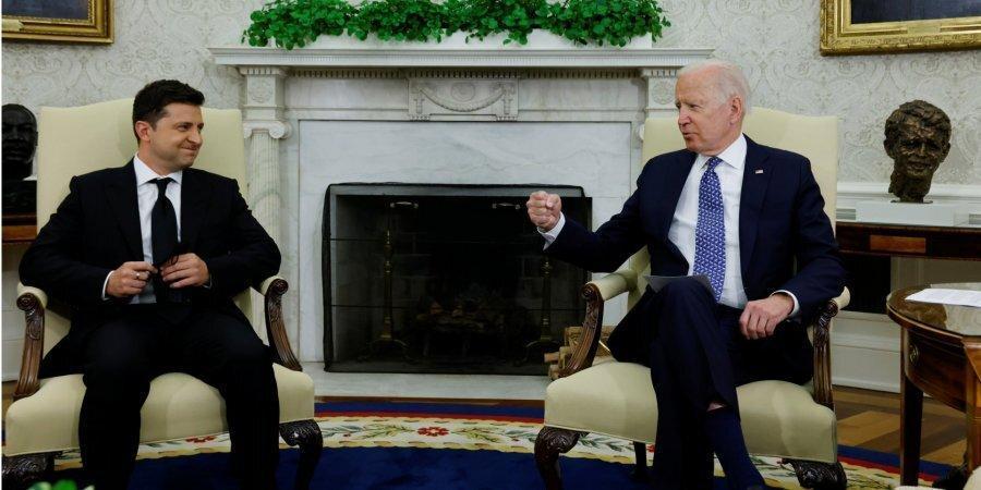 Байден прийняв Зеленського вОвальному кабінеті Білого дому (Фото: 1 вересня / Джонатан Ернст / Reuters)