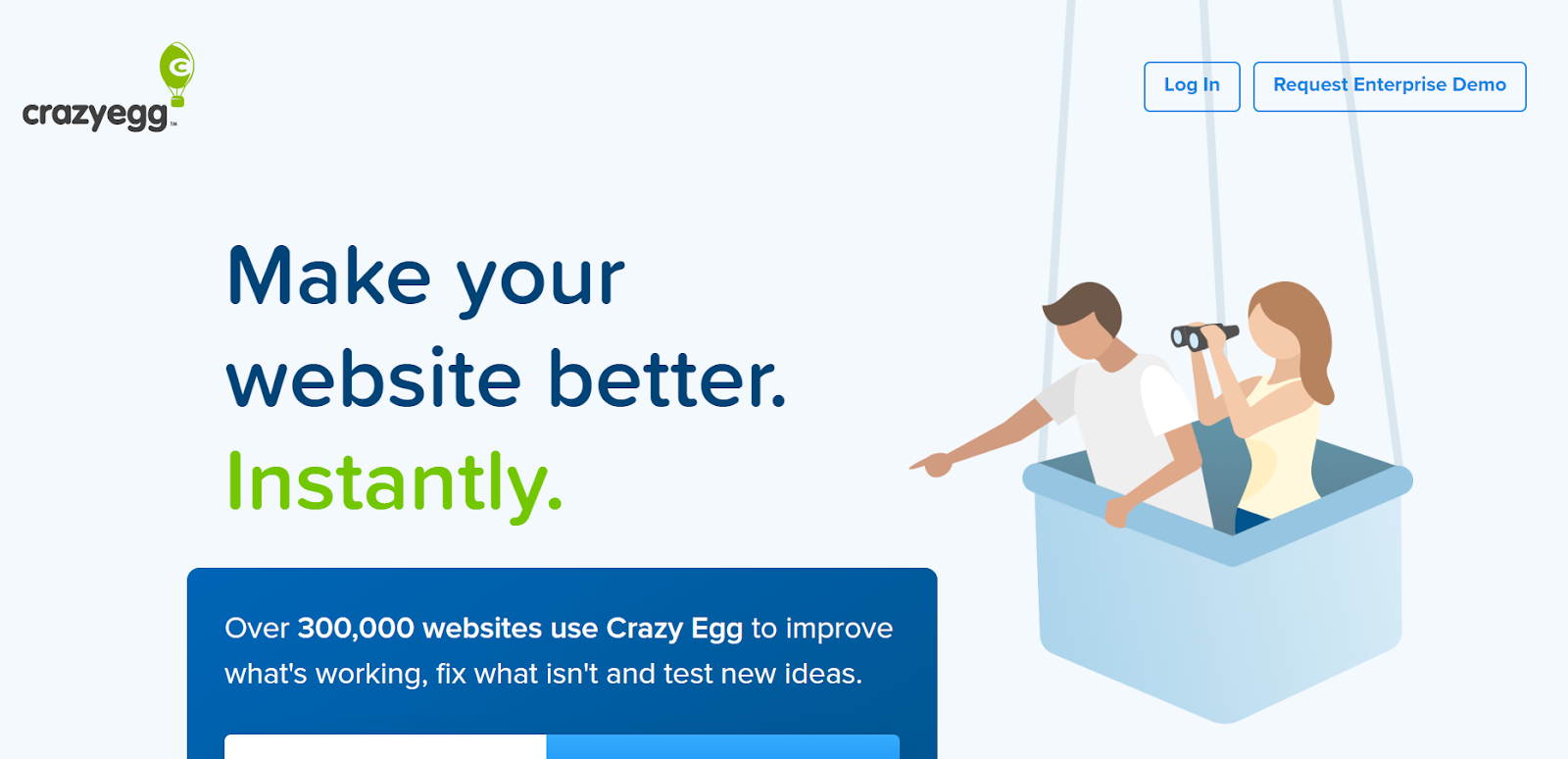 conversion rate optimization tools CrazyEgg