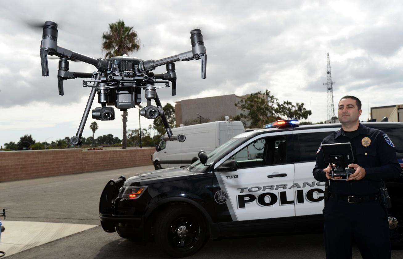 More police departments are getting drones. Here's how they're using them –  Daily News