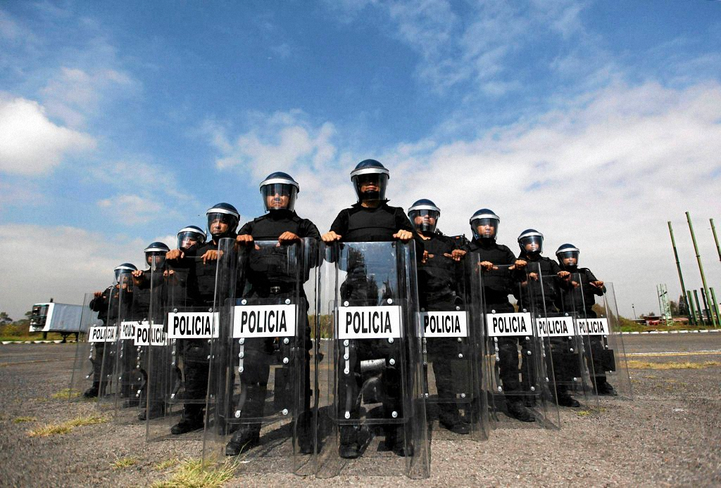Применение оружия полицией-5