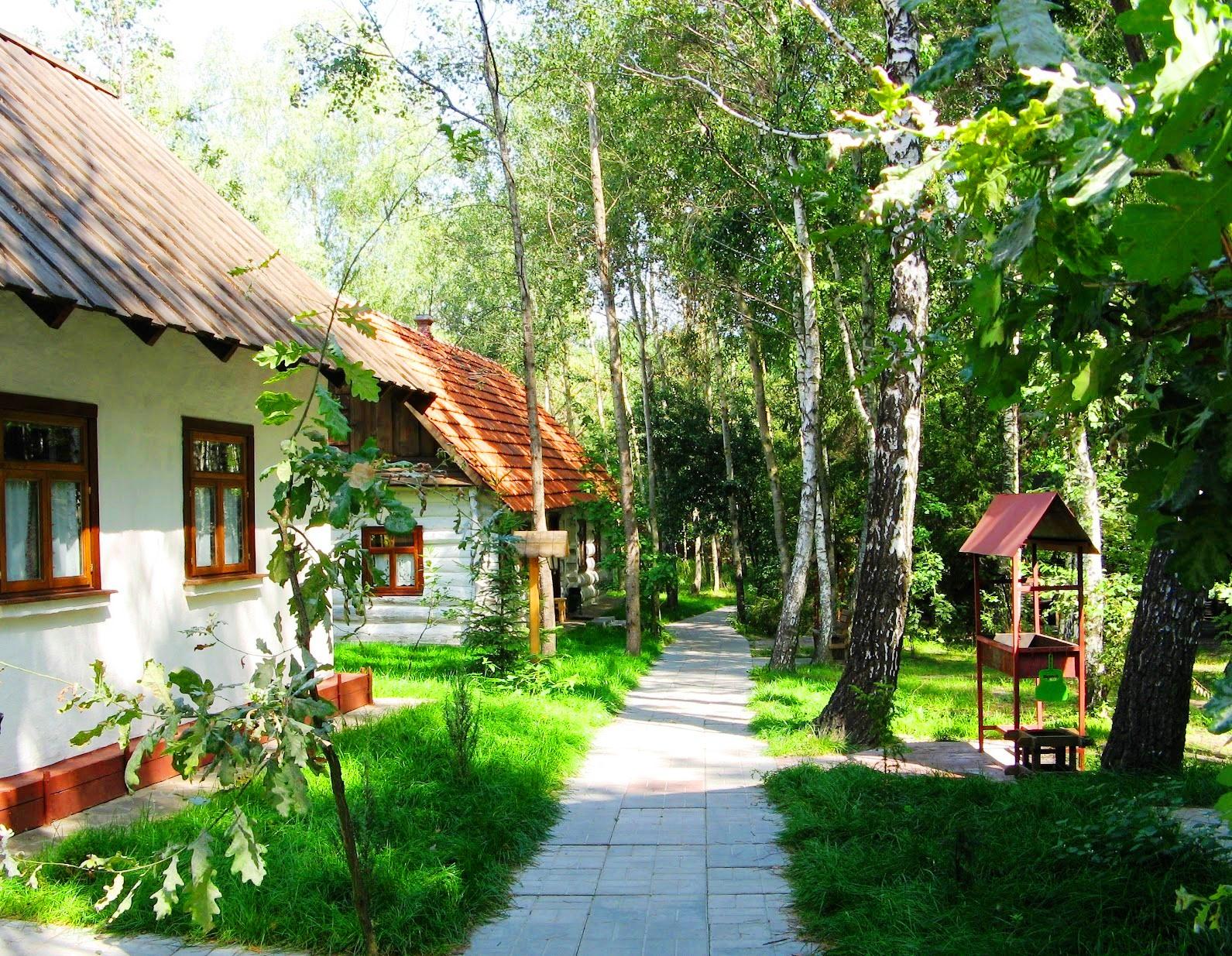 Картинка село Бузова этно-комплекс.