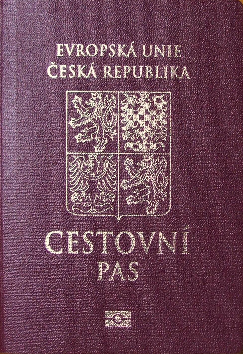 Czech passport holders