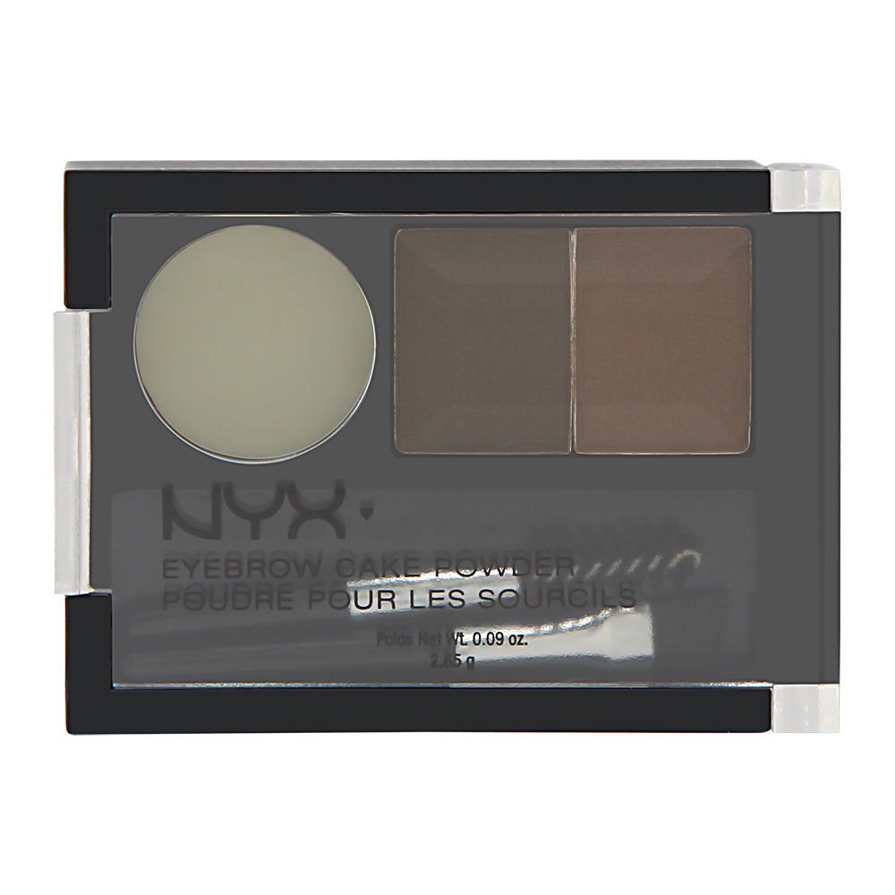 NYX Eyebrow Cake Brunette Eyebrow Kit
