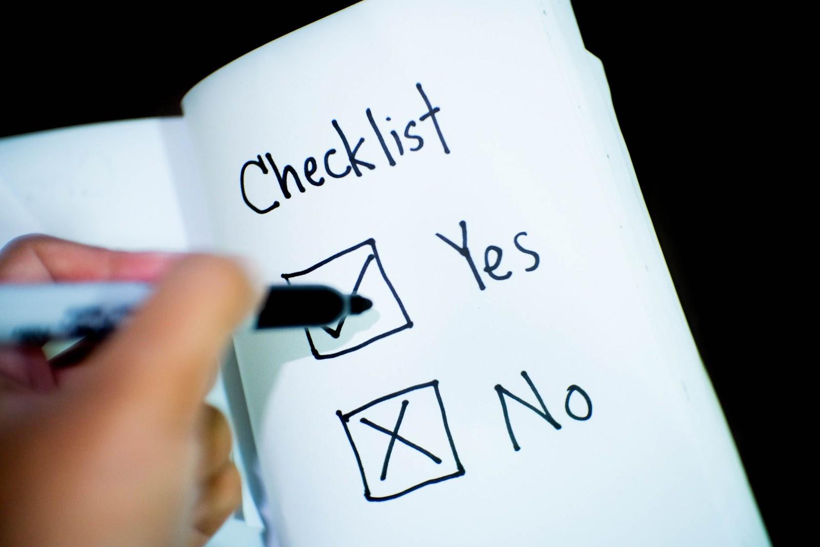 Driver Hiring Checklist