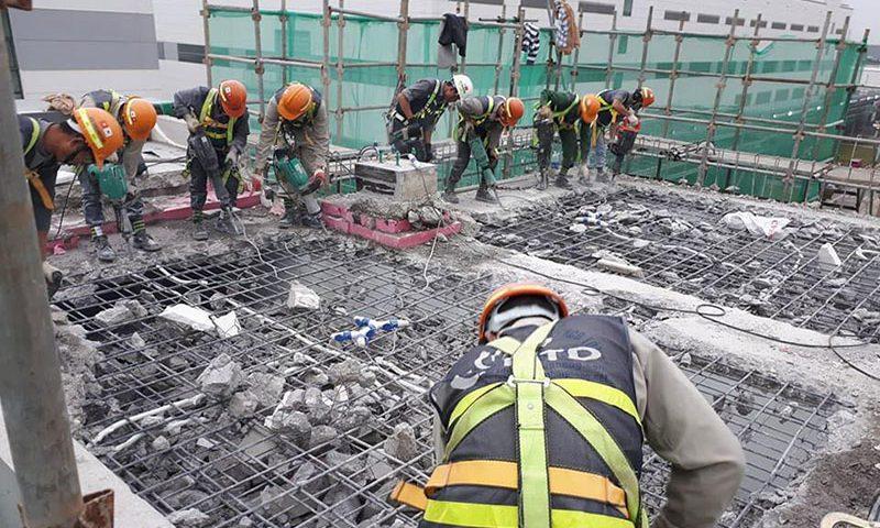 Khoan cắt bê tông - dịch vụ phổ biến trong các công trình hiện nay