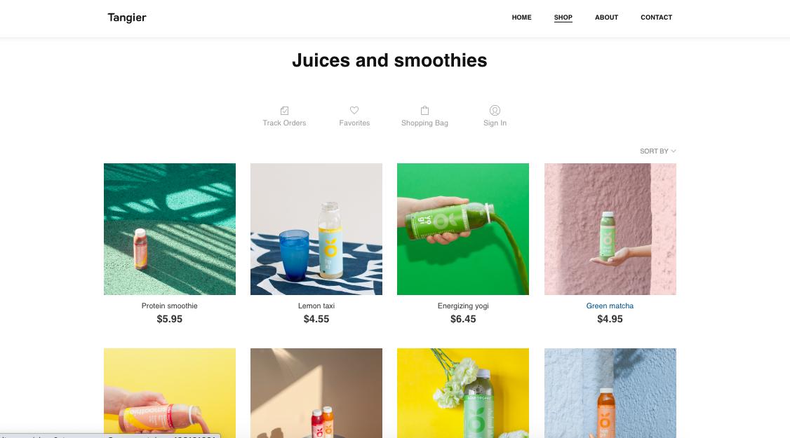 e-commerce webhop