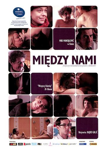 Przód ulotki filmu 'Między Nami'