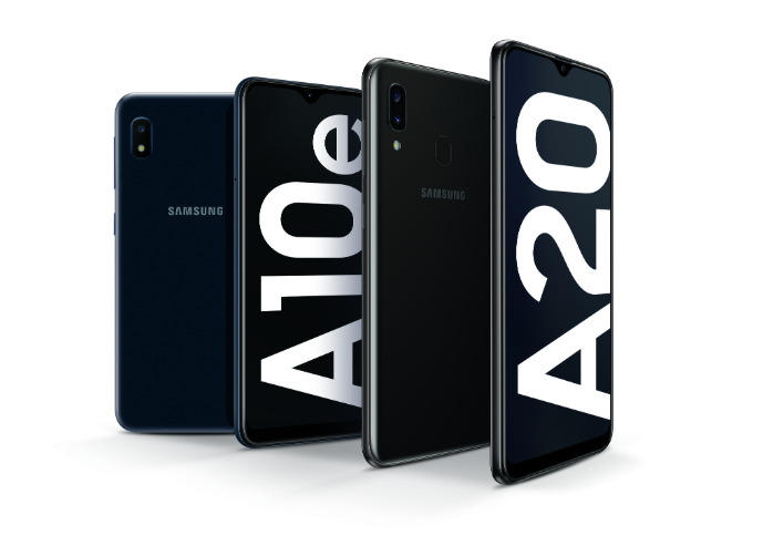 The Samsung Galaxy A10e and the Galaxy A20 both hit shelves July 26th