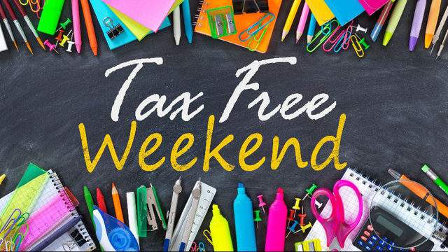 Tax-Free Weekends