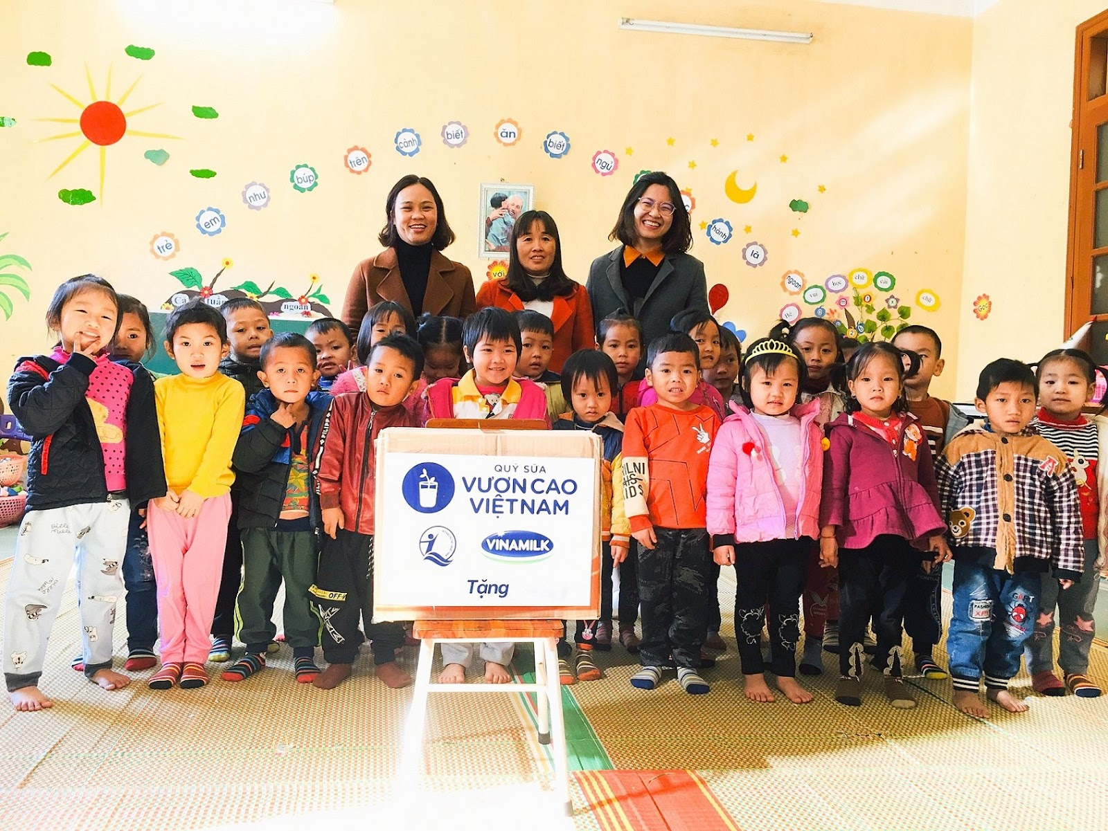 Nơi nào Quỹ sữa Vươn cao Việt Nam chọn là điểm đến, nơi ấy đều tràn ngập niềm vui và sự xúc động