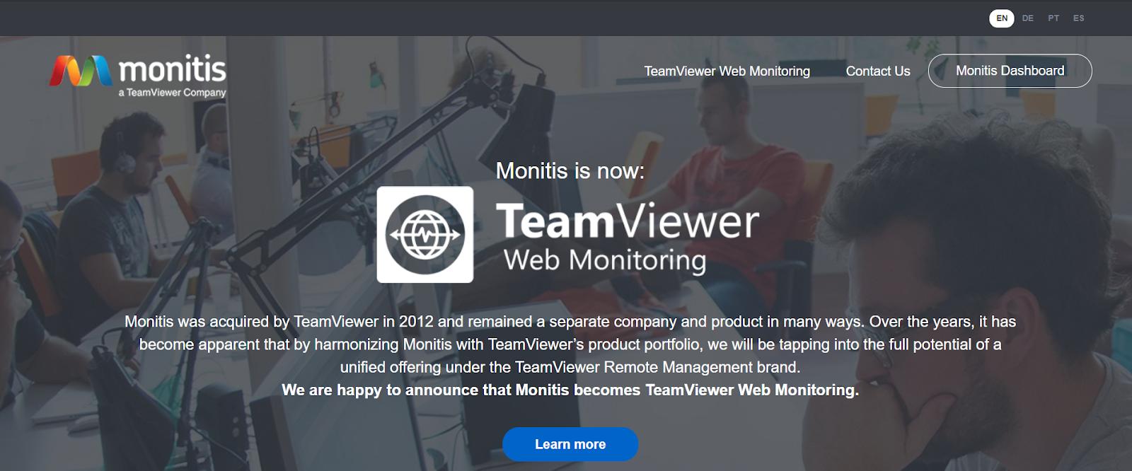 Monitis Server monitoring software
