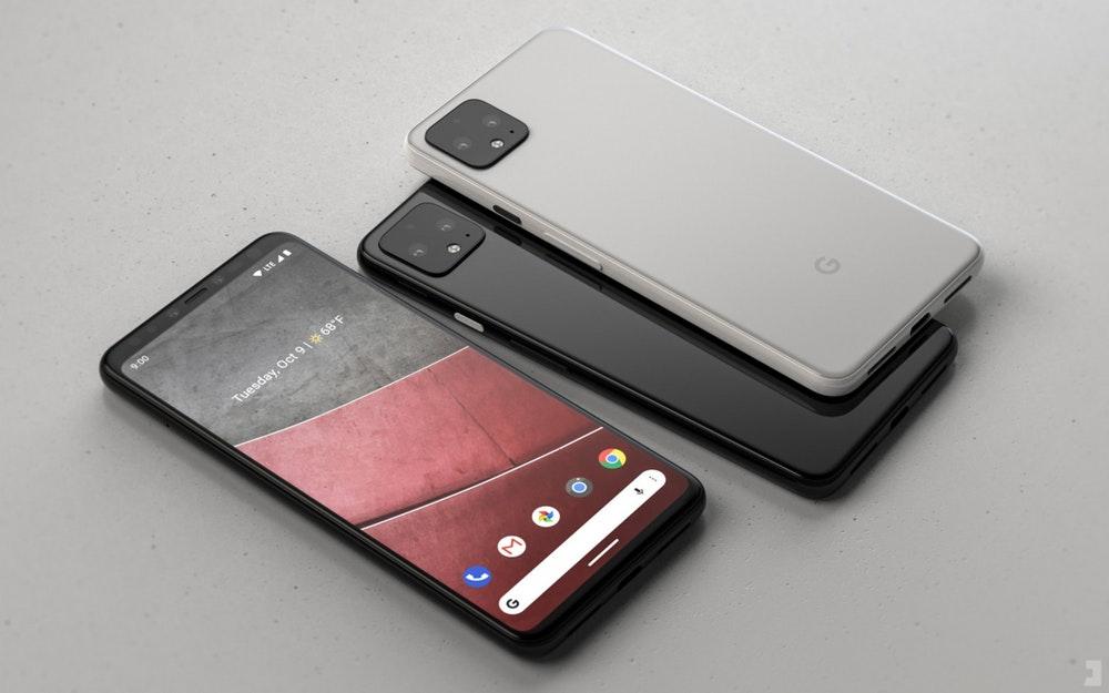 Google Pixel 4 Renderbild